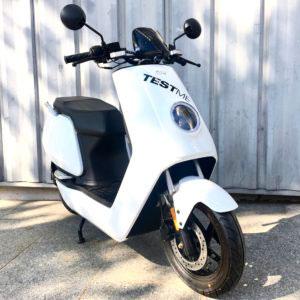 Niu scooter blanc