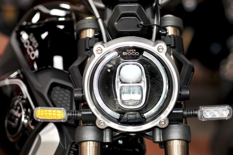 Super Soco - Motos et scooters électriques