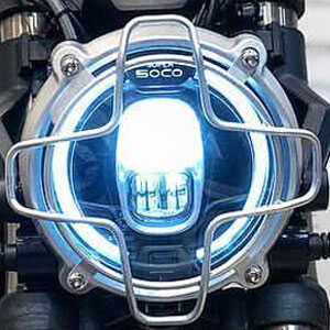 Super Soco TC Max-grille de phare