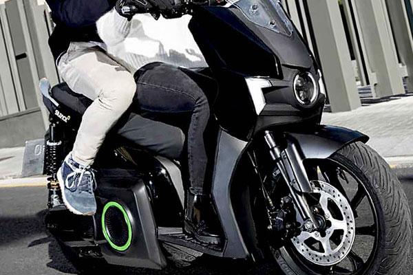 SIlence S01 scooter électrique noir
