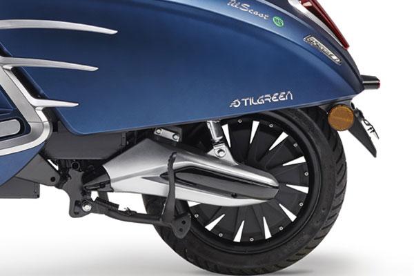 TilGreen TilScoot 50 roue arrière